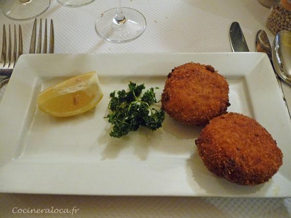 croquettes et persil frit  ©cocineraloca.fr