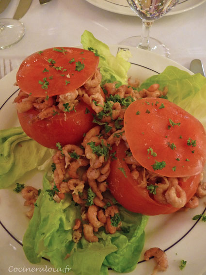 tomates crevettes grises ©cocineraloca.fr