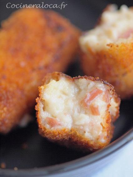 Croquetas de jamón : croquettes de jambon à l'espagnole 3©cocineraloca.fr