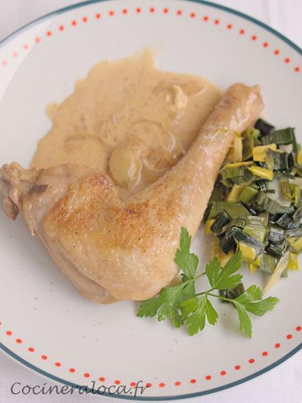 poulet au neufchâtel ©cocineraloca.fr