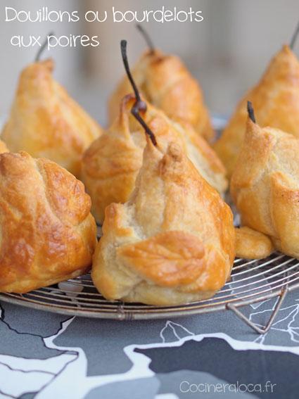 douillons bourdelots aux poires ©cocineraloca.fr