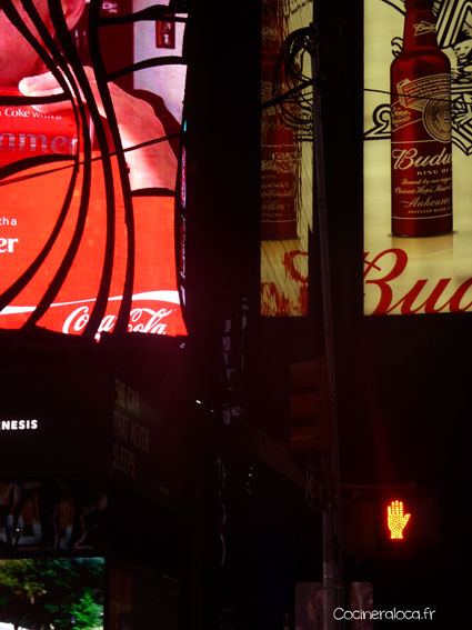 Times Square ©cocineraloca.fr