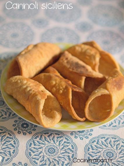 Cannoli siciliens après friture ©cocineraloca.fr