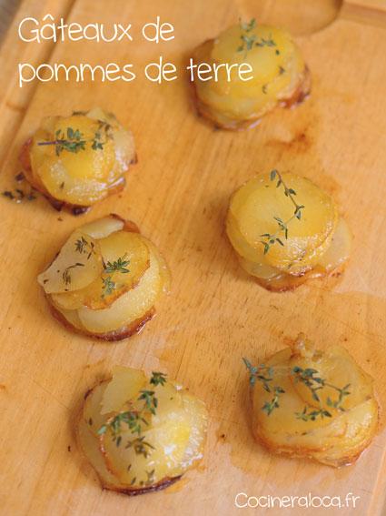 Gâteaux de pommes de terre ©cocineraloca.fr