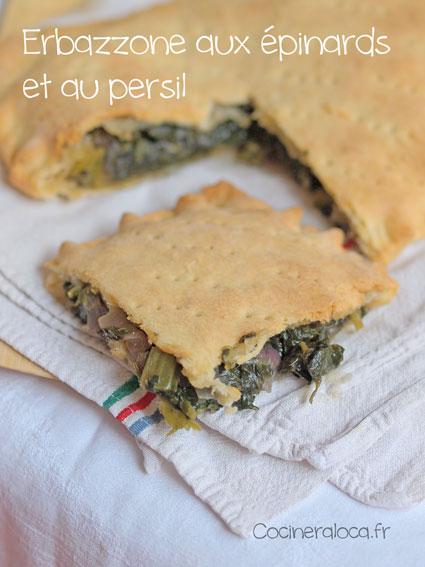 Erbazzone Aux Epinards Et Parmesan La Cocinera Loca