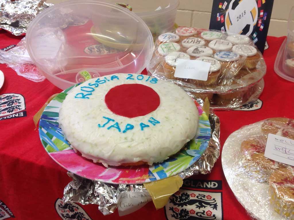 World Cup Bake Off Cake
