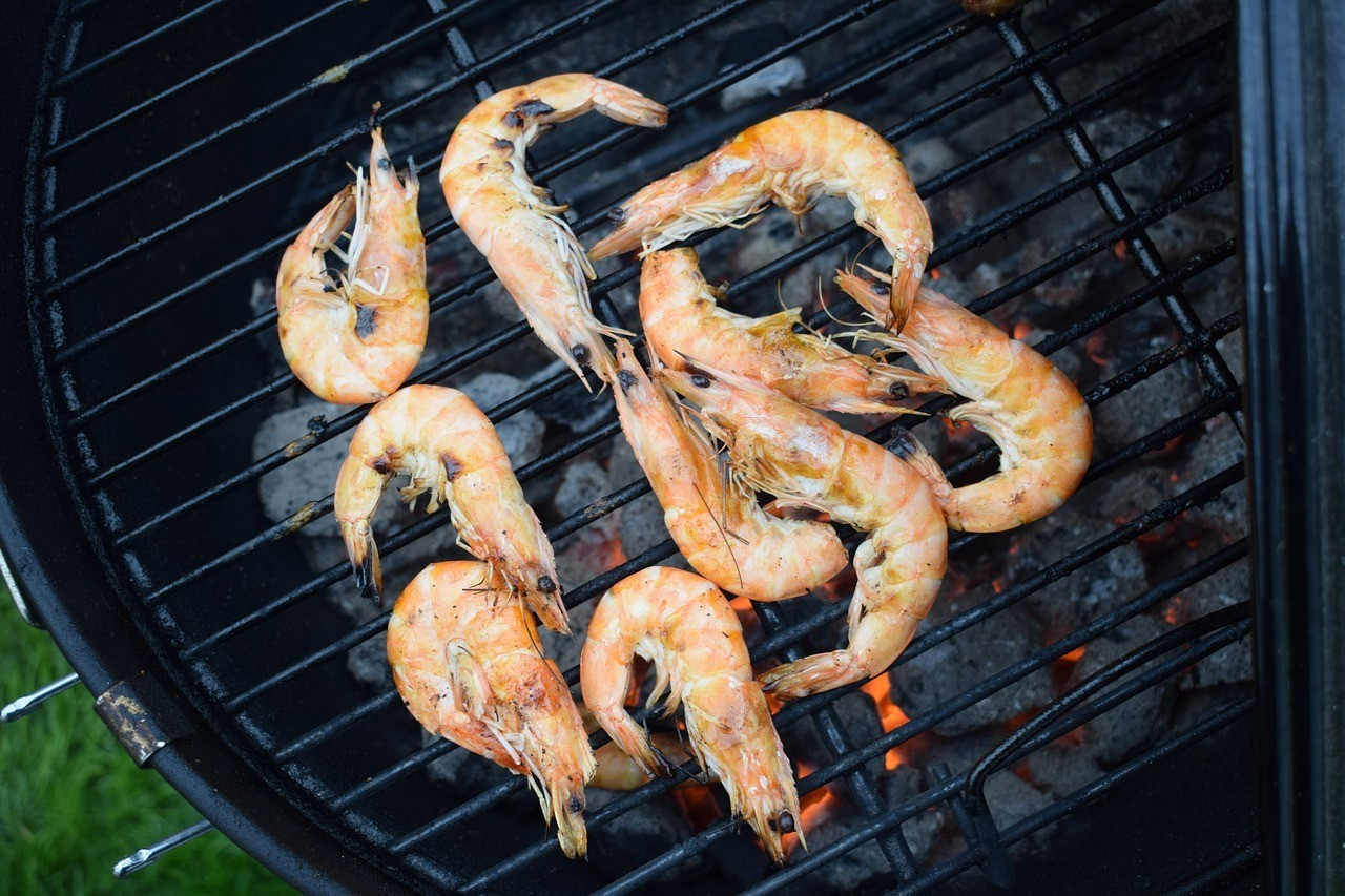 grilling deveined shrimp