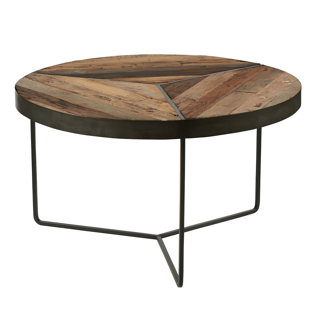 table basse ronde dustin