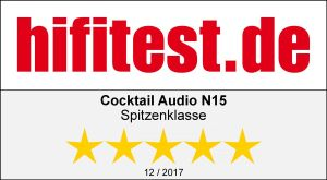 CocktailAudio N15 Test