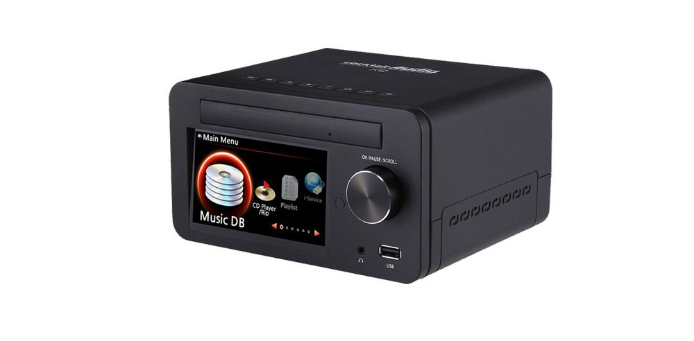 CocktailAudio Musikserver X12 Front Black