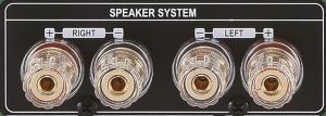 CocktailAudio X35 Lautsprecheranschluss