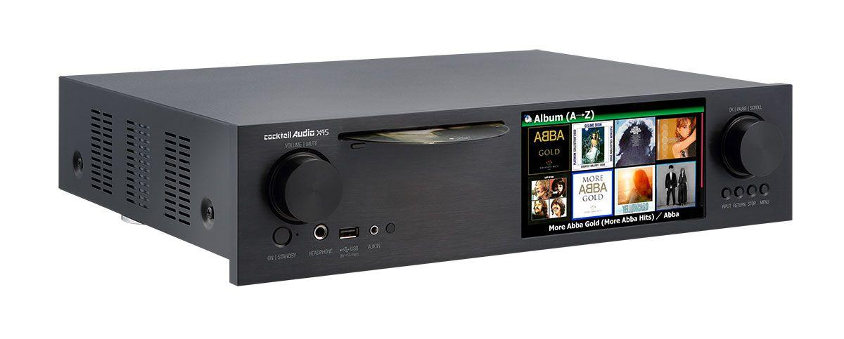 CocktailAudio X45 schwarz - seitliche Ansicht