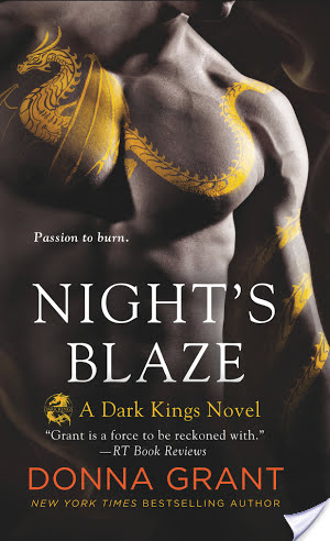 Review:  Night's Blaze by Donna Grant