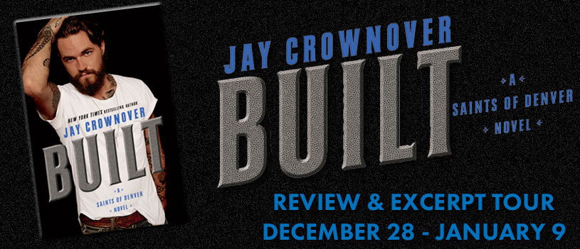 Blog Tour Review  & Giveaway:  Built by Jay Crowover