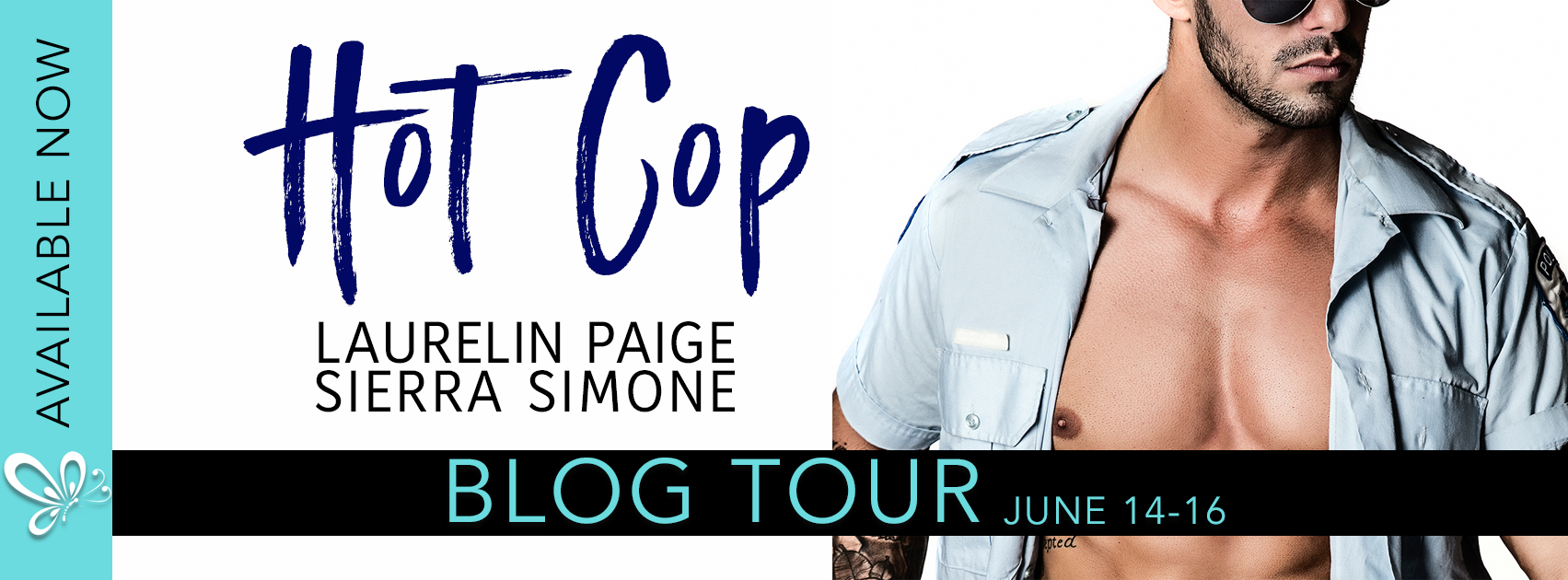 Blog Tour Review:  Hot Cop by Laurelin Paige and Sierra Simone