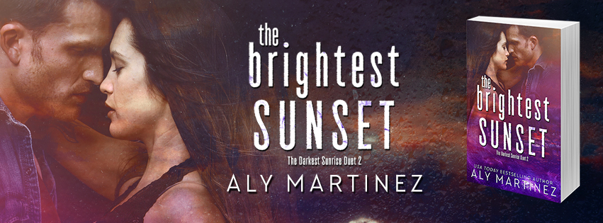Blog Tour Review:  The Brightest Sunset by Aly Martinez