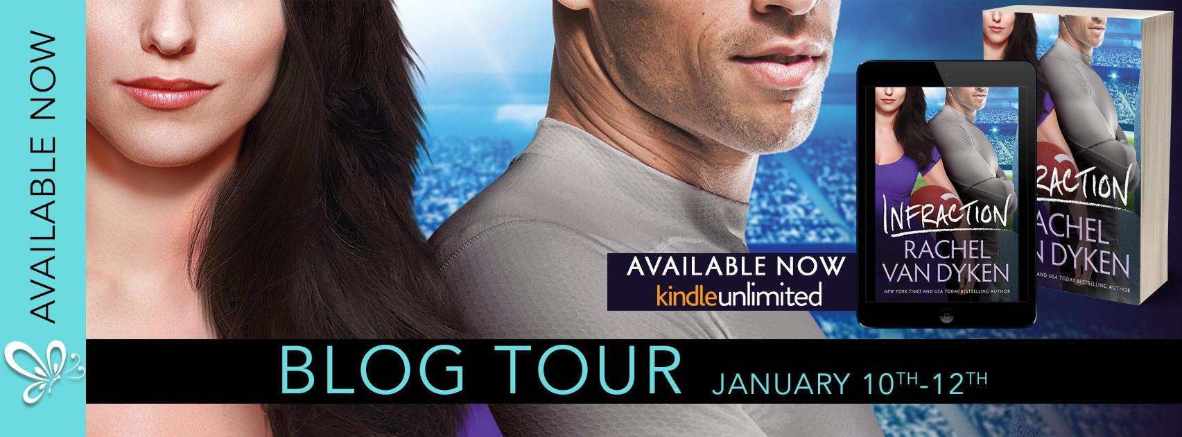 Blog Tour Review:  Infraction by Rachel Van Dyken