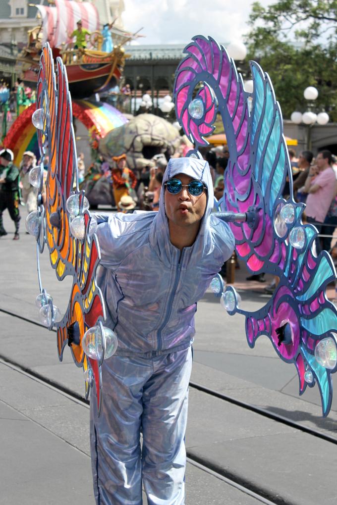Cocktails in Teacups Walt Disney World Holiday April 2015 Magic Kingdom Festival of Fantasy Sea Horse