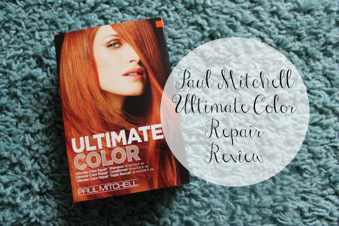 Cocktails in Teacups Beauty Blogger Paul Mitchell Ultimate Color Repair Review