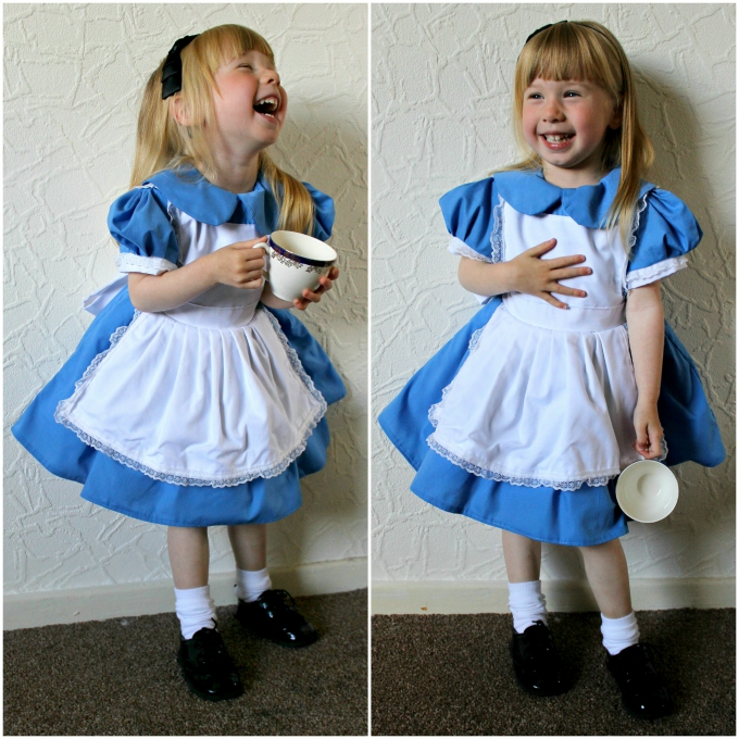Alice in Wonderland Toddler Child Cosplay