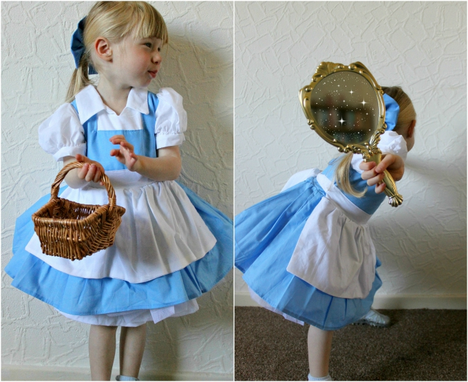 Belle Town Dress Childs Cosplay