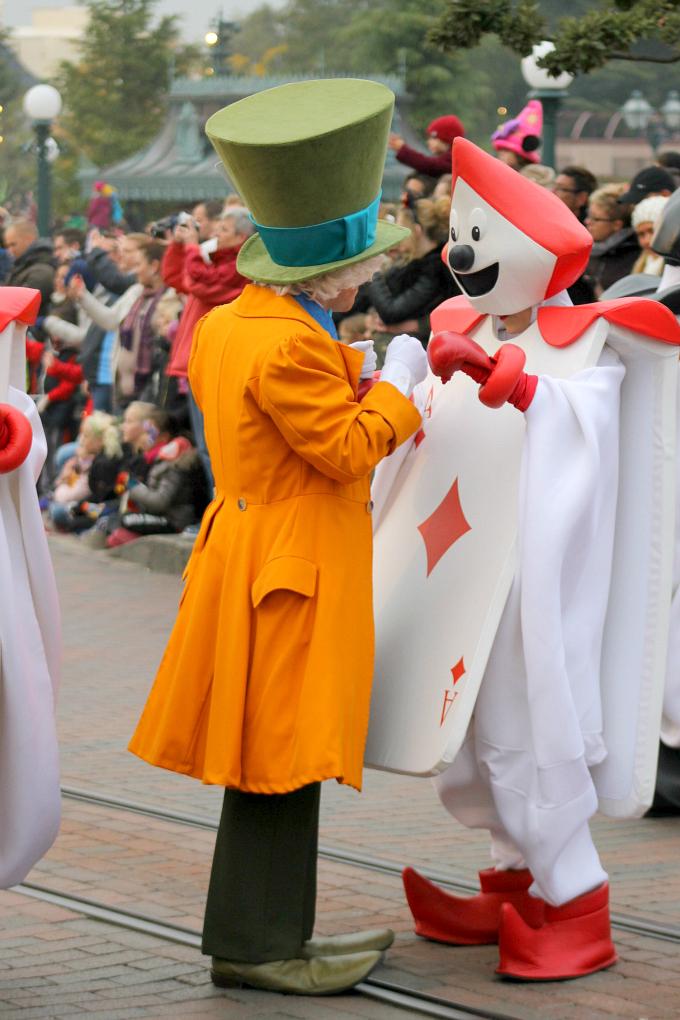 Cocktails in Teacups Disney Life Parenting Travel Blog Disneyland Paris Disney Magic on Parade Hatter