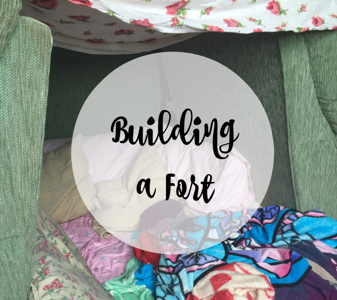 Cocktails in Teacups Disney Life Parenting Travel Things to Do With Kids - Building a Fort