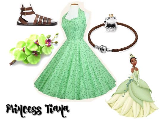 Cocktails in Teacups Disney Life Travel Parenting Blog Disney Bound Princess Tiana