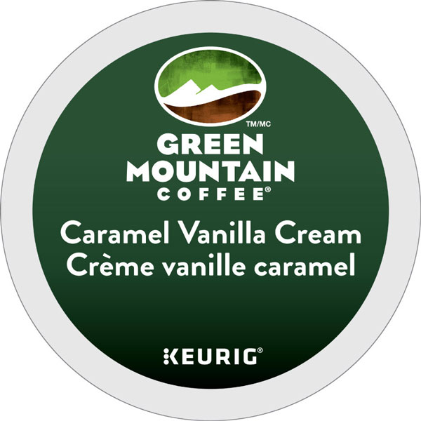 Caramel Vanilla Cream From Green Mountain