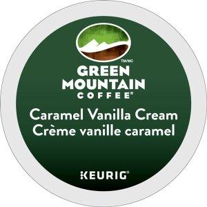 Green Mountain Coffee Caramel Vanilla Cream K-Cup Lid