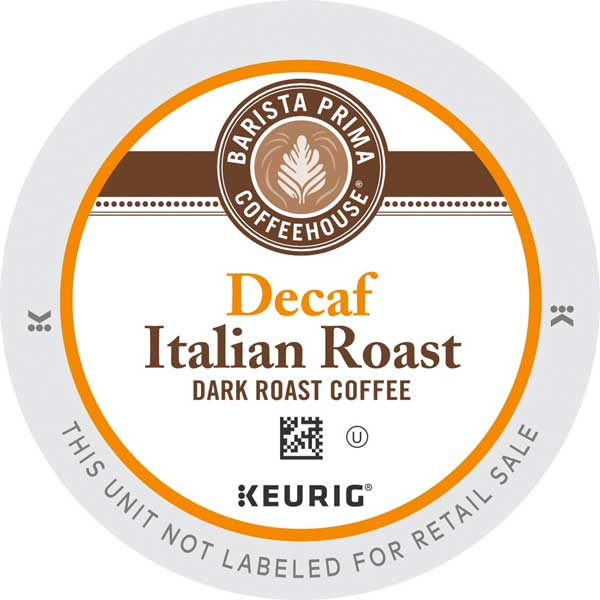 Italian Roast Decaf From Barista Prima