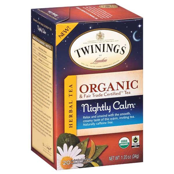 "Chamomile ""Nightly Calm"" Organic Green Tea Bags From Twinings"