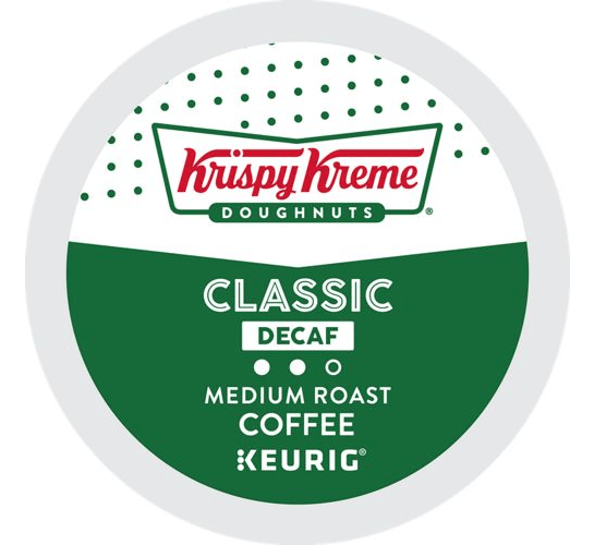 Decaf From Krispy Kreme Doughnuts