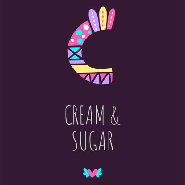 Notegraphy-styled cream & sugar category image