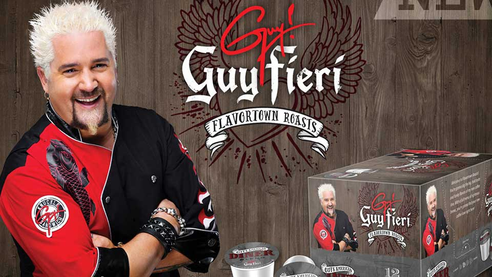 Guy Fieri Flavortown Roasts promo graphic