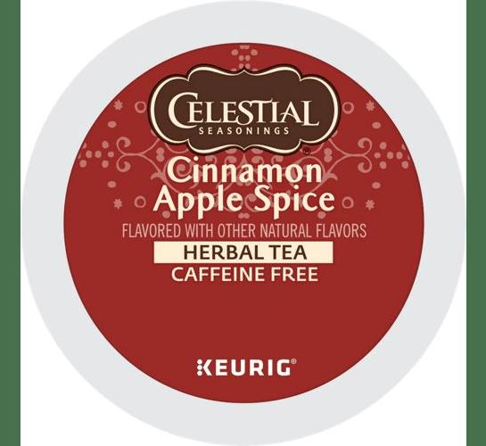 Cinnamon Apple Spice Herbal Tea From Celestial Seasonings