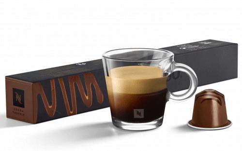 Barista Cocoa Truffle Capsules From Nespresso