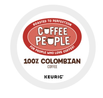 100% Colombian From Coffee People