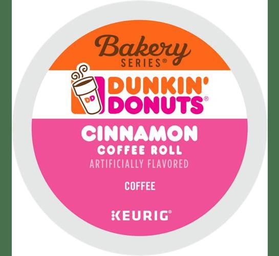 Cinnamon Coffee Roll From Dunkin' Donuts