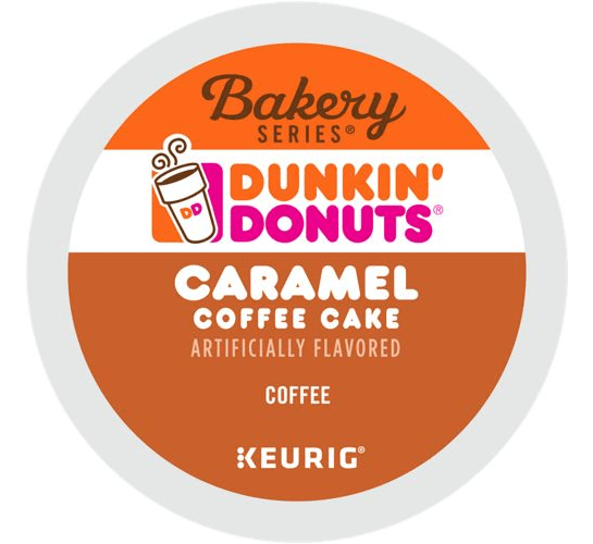 Caramel Coffee Cake From Dunkin' Donuts