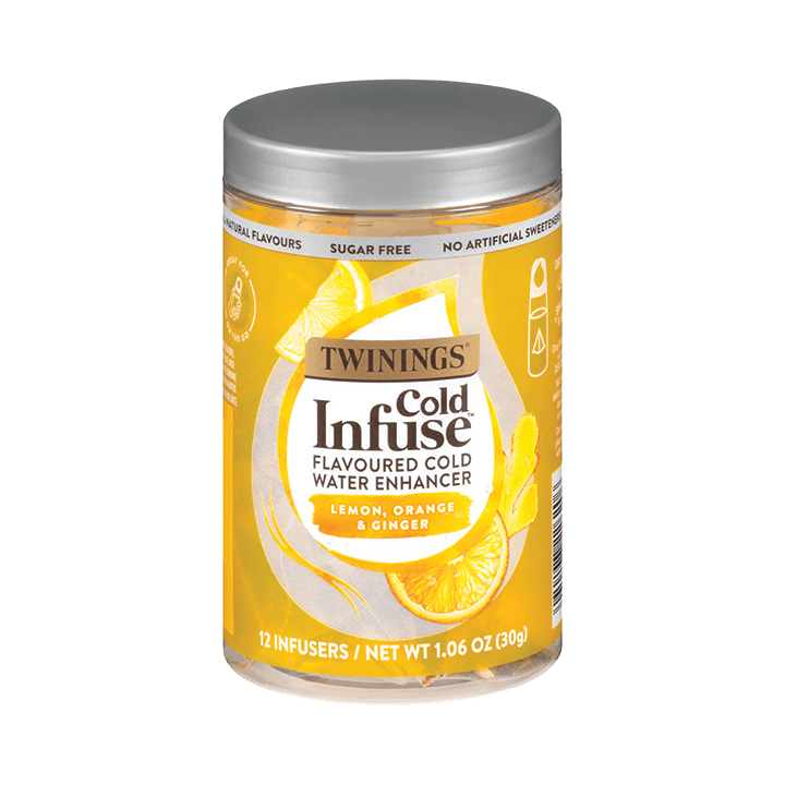 COLD INFUSE – Lemon, Orange & Ginger