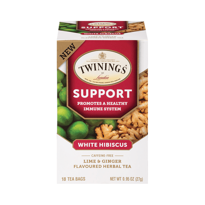SUPPORT-White Hibiscus By Twinings