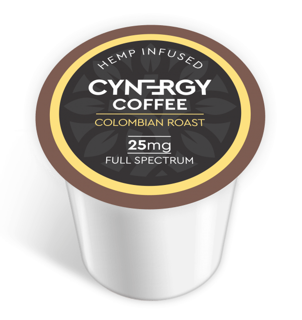 CYNERGY Colombian CBD 25MG K-Cups