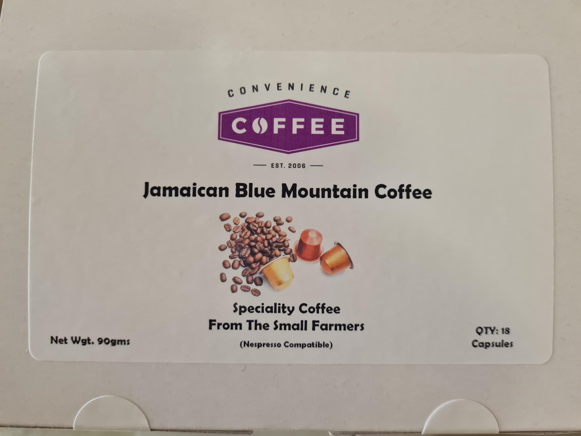 Jamaican Blue Mountain Capsules (Nespresso Compatible)