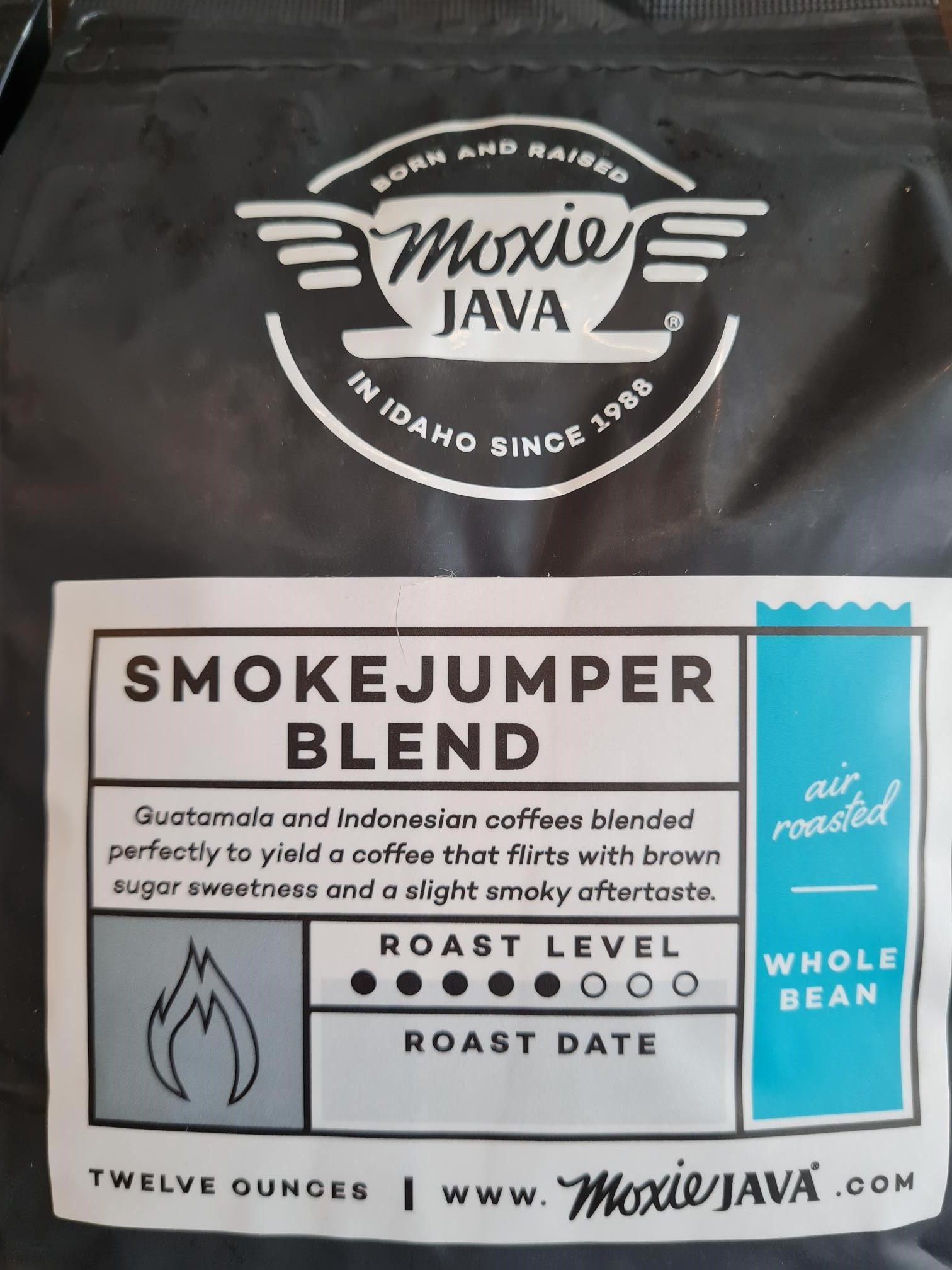 MOXI JAVA Smoke Jumper Whole Bean