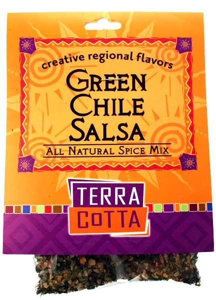Green Chile Salsa – TERRA COTTA