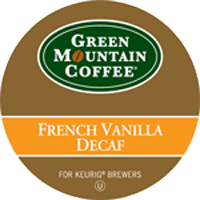 French Vanilla Decaf From Green Mountain