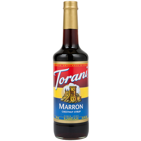 Marron (Chestnut) Syrup From Torani (25.4 Oz 750 Ml)