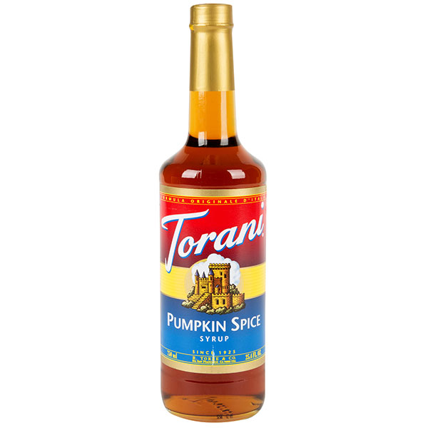 Pumpkin Spice Syrup From Torani (25.4 Oz 750 Ml)