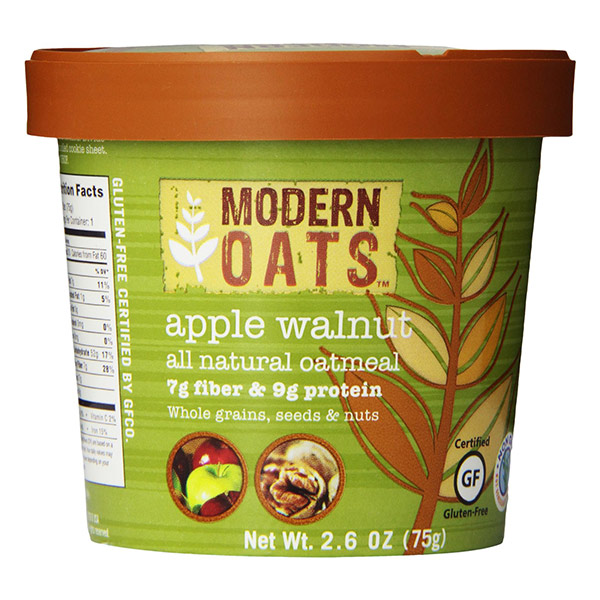 Apple Walnut Instant Oats From Modern Oats